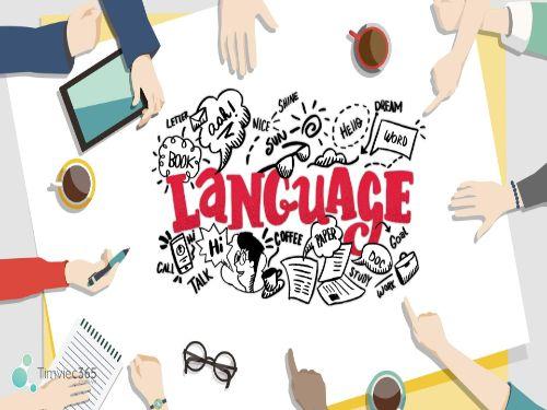 Hình minh họa: Ngành liên quan đến ngôn ngữ sẽ có chỗ đứng trong xã hội