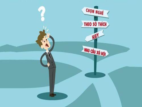 Hình minh họa: Lựa chọn, định hướng nghề nghiệp cần dựa trên nhiều yếu tố