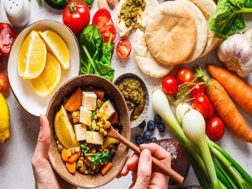 Hình minh họa: Thực đơn ăn chay giảm cân trong vòng 7 ngày xoay quanh thực phẩm từ thực vật