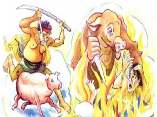 Hình minh họa: Nghề bán thịt heo với việc làm đồ tể tạo nghiệp sát rất nặng