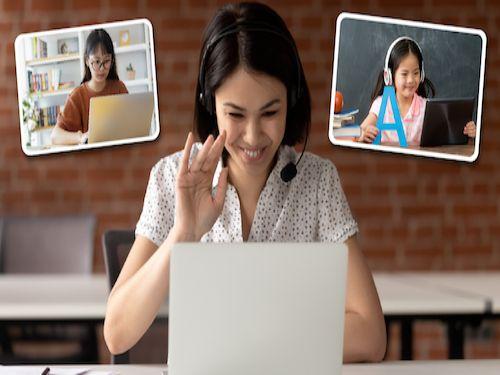Hình minh họa: Lợi ích khi tham gia các lớp học trực tuyến online