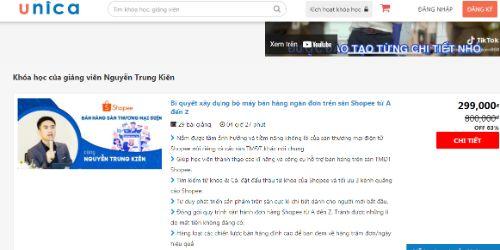 Hình minh họa: Khóa học kinh doanh online tại Hà Nội của thầy Nguyễn Trung Kiên